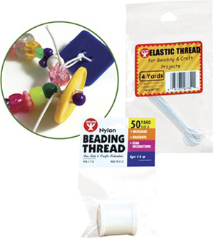 Beading Thread - 4 Yards Elastic Threads
